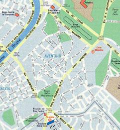 Rome map B3